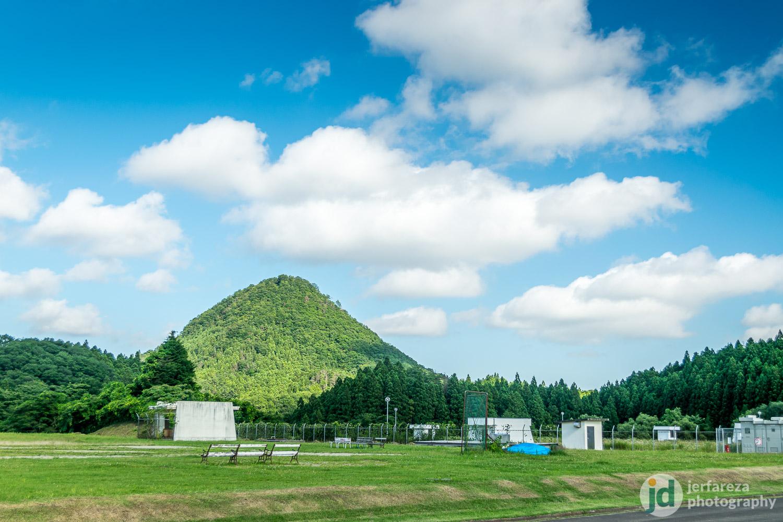 Around Sendai: Taihaku The Triangle Hill